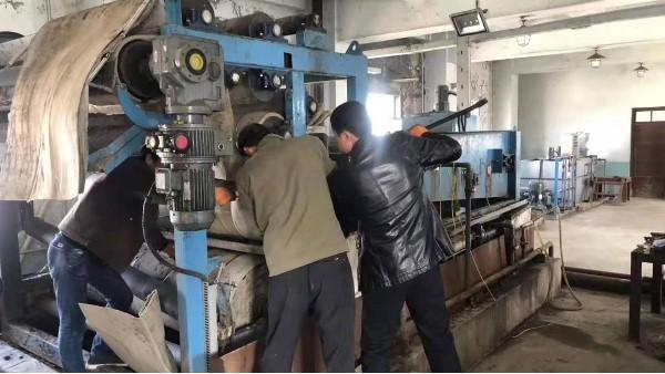 江苏污泥脱水网之压滤机网带安装