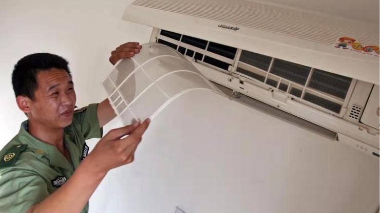 知道中央空调过滤网怎么清洗后,中央空调更持久{旭瑞网业}